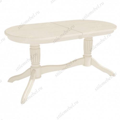 Стол обеденный Зубр-1 слоновая кость