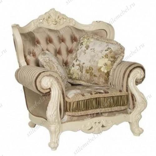 Кресло Милано 8802-А MK-1828-IV (ткань КОФЕЙНАЯ)