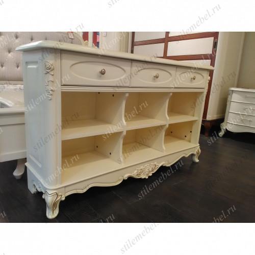 "Консоль с полками ""Милано"", Sofa back cabinet MK-1867-IV"