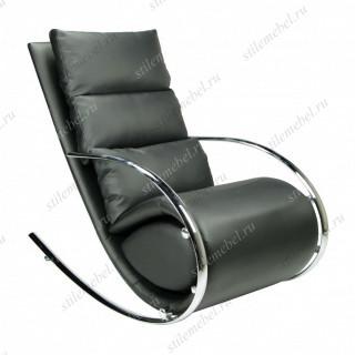 MK-5503-BL. Кресло-качалка c пуфом