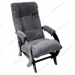 Кресло- гляйдер Модель 68 (Antazite Grey /Венге) Кресло-гляйдер