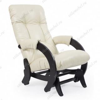 Кресло- гляйдер Модель 68 (венге/ Polaris Beige ) бежевый