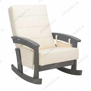 Кресло-качалка Нордик орех/Дунди 112
