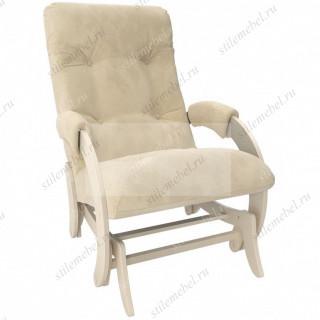 Кресло гляйдер Модель 68 (Verona Vanilla /Дуб шампань)