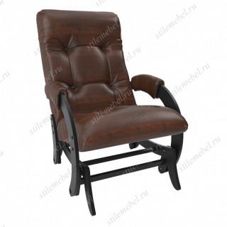 Кресло- гляйдер Модель 68 (венге/ Ant.крокодил)
