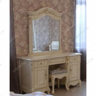 """Туалетный столик с зеркалом """"Милано"""" MK-1839-IV 8803-C"""