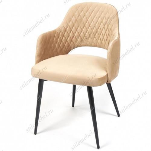 Кресло VALKYRIA (mod. 711) бежевый barkhat 5/черный каркас