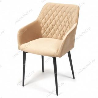 Кресло BREMO (mod. 708) бежевый barkhat 5/черный каркас