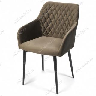 Кресло BREMO (mod. 708) темно-серый barkhat 14/черный каркас