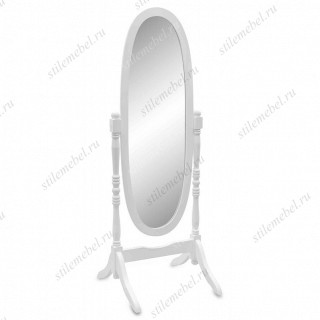MK-2301-WT. (VT-M-27) Зеркало напольное белое