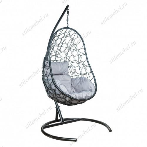 Кресло подвесное LESET Ажур черное