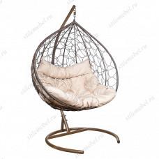 Кресло подвесное LESET Бали коричневое