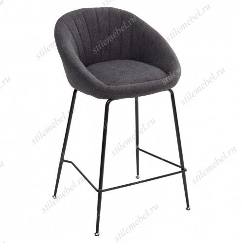 Полубарный стул ATLAS 9105-24 темно серый (H=65cm)