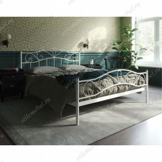 Кровать Глэдис с изножьем (160х200, белый)