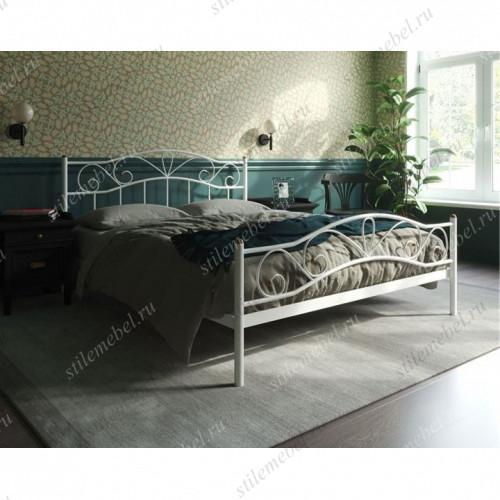 Кровать Глэдис с изножьем (120х200, белый)