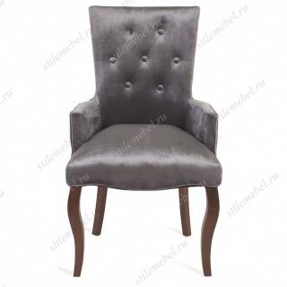 Кресло Виктория (темный тон / 36 - голубовато-серый)