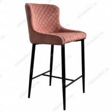 Барный стул ARTEMIS BLUVEL-52 PINK (H=65cm)