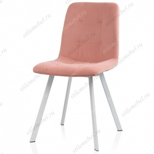 Стул Bruk light pink/white