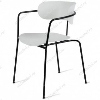 Кресло VAN HALLEN (mod. 2433) (белый/черный)