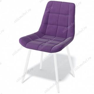 Стул Kenner 154KS фиолетовый 38/белый каркас