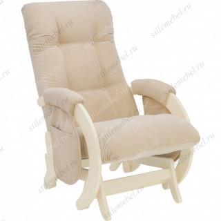 Кресло для кормления Milli Smile Дуб шампань, ткань Verona Vanila