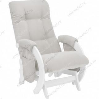 Кресло для кормления Milli Smile молочный дуб, ткань Verona Light Grey