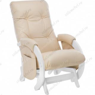 Кресло для кормления Milli Smile Молочный дуб, к/з Polaris Beige