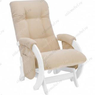 Кресло для кормления Milli Smile молочный дуб, ткань Verona Vanila