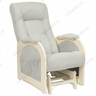 Кресло для кормления Milli Joy Дуб шампань, ткань Verona Light Grey