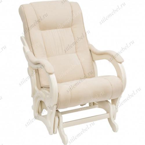 Кресло для кормления Milli Style Дуб шампань, ткань Verona Vanila