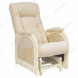 Кресло для кормления Milli Joy Дуб шампань, ткань Verona Vanila