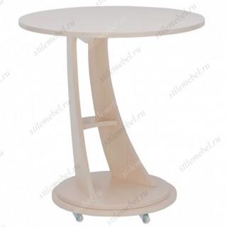 Подкатной столик Акцент 2 (Молочный дуб)