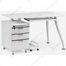 Компьютерный стол Erida white