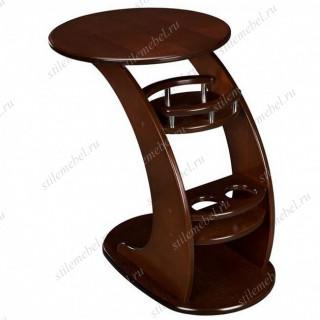 Прикроватный стол Люкс (орех)