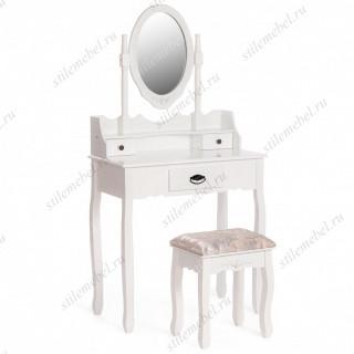 Туалетный столик с пуфом Secret De Maison GAUDE (mod. TT-DT003) Белый (White)
