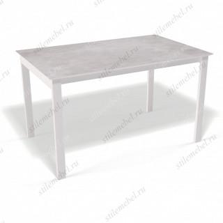 Стол E1300 белый - цемент