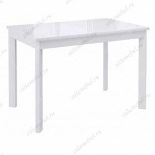 Стол DikLine LS111 белый/стекло белое