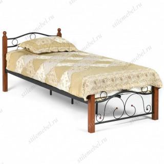 Кровать AT-803 Wood slat base 90х200