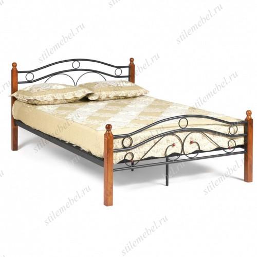 Кровать AT-803 Wood slat base 120х200
