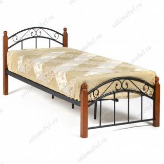 Кровать AT-8077 Wood slat base 90х200