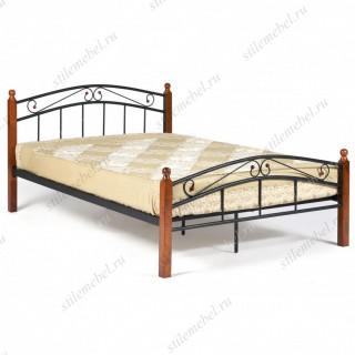 Кровать AT-8077 Wood slat base 140х200