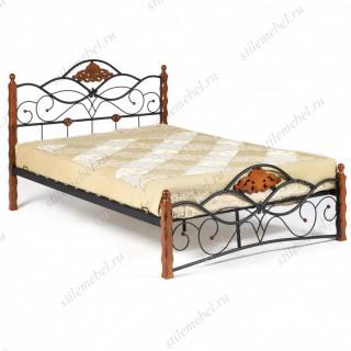 Кровать CANZONA Wood slat base 120х200
