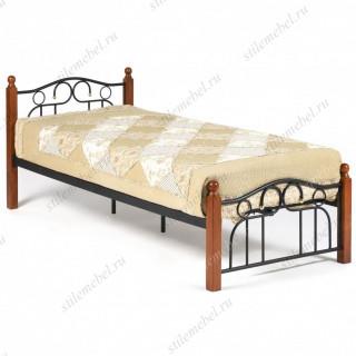 Кровать AT-808 Wood slat base 90х200