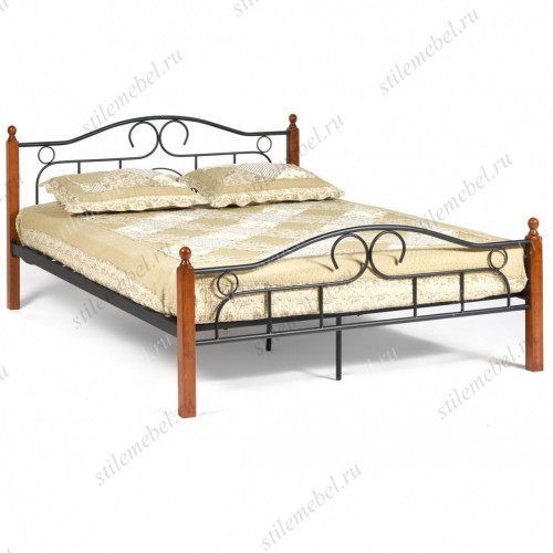 Кровать AT-808 Wood slat base 160х200