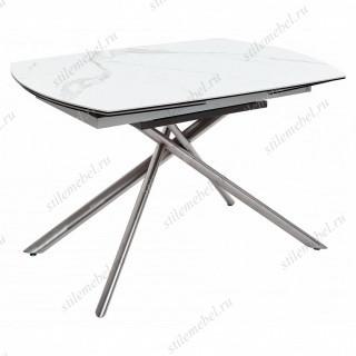 Стол BUSHES 120 WHITE/BLACK
