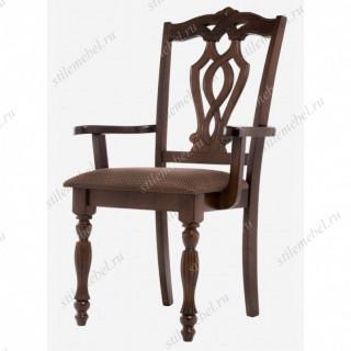 Кресло Vastra cappuccino/brown с подлокотниками