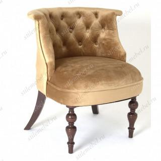 Кресло Бархат (темный тон / 5 - золото)