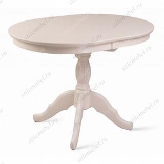 Стол обеденный Лилия-0110 (слоновая кость 9001)