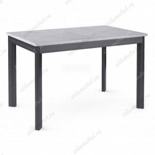 Стол Dikline L110 бетон/ножки темно-серые
