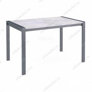 Стол Dikline T110 бетон/ножки темно-серые